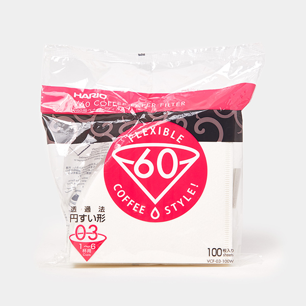 Hario V60 papieren koffiefilters #03