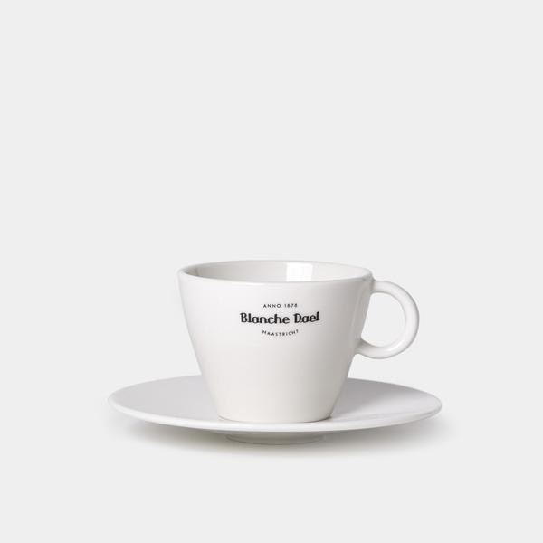 Blanche Dael 'Maastricht' cappuccinokop & schotel