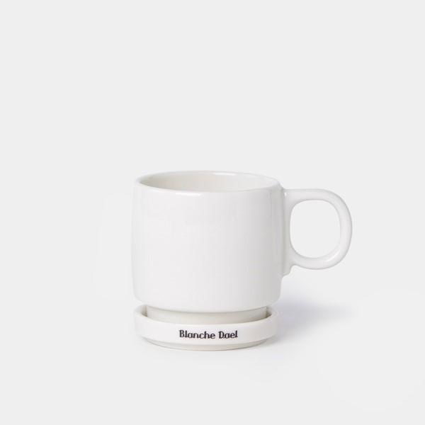 'Petrus' koffiemok oor & schotel