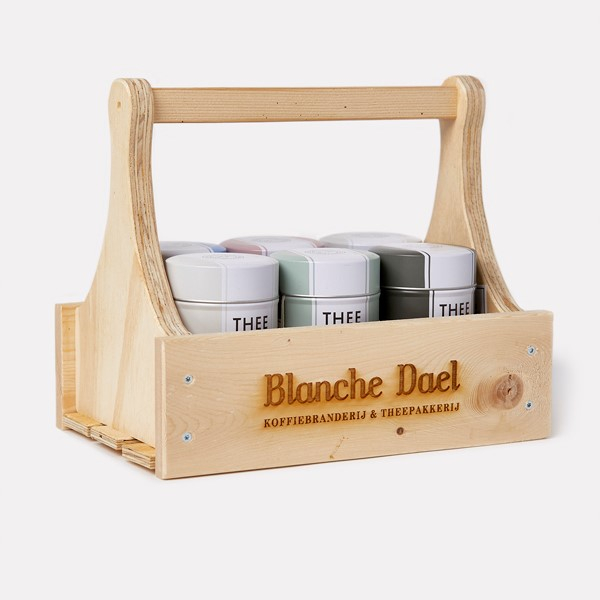 Blanche Dael theerek blik