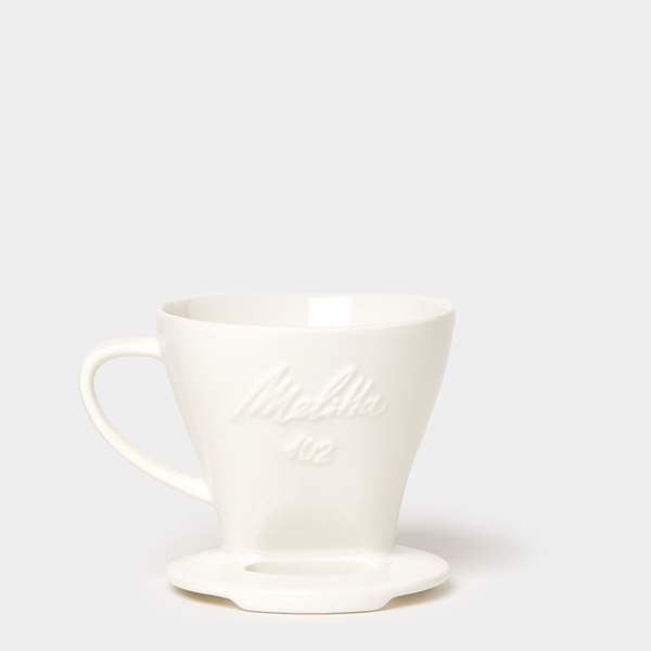 Melitta 102 koffiefilterhouder porselein