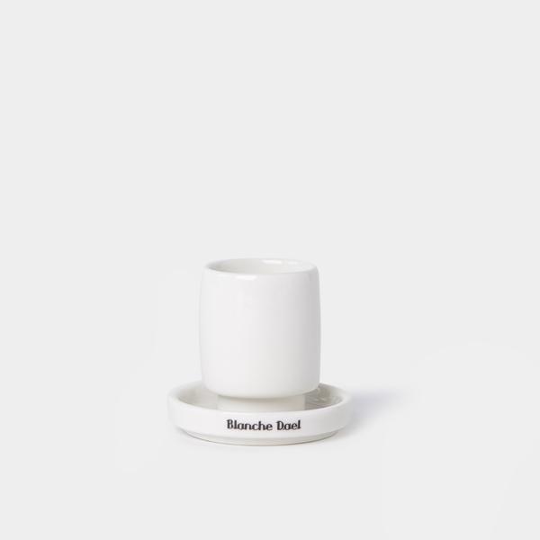 'Petrus' espressomok zonder oor & schotel