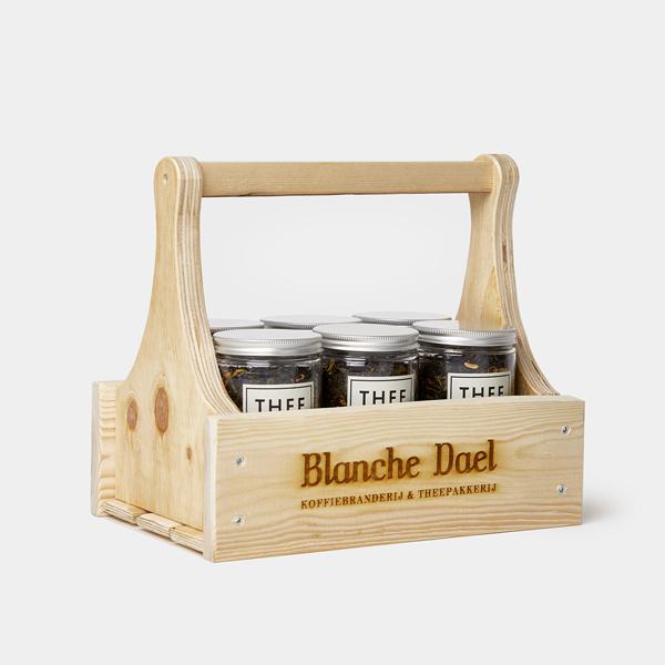 Blanche Dael houten theerek