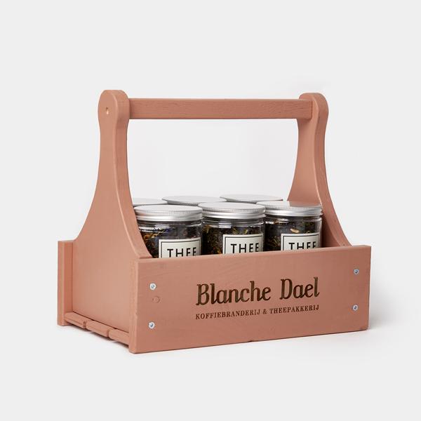 Blanche Dael theerek roze